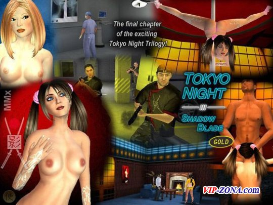 [3D Sex Game] Shadow Blade - Tokyo Night 3 Gold (English)