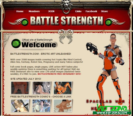 BattleStrength.com Full SiteRip