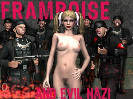Framboise and Evil Nazi (Uncensured English Version)