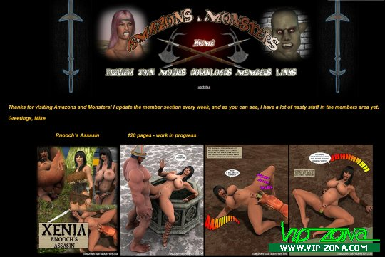 Amazons-And-Monsters.com - SiteRip Full Repack