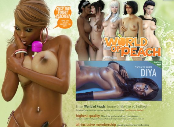 WorldofPeach.com Full SiteRip