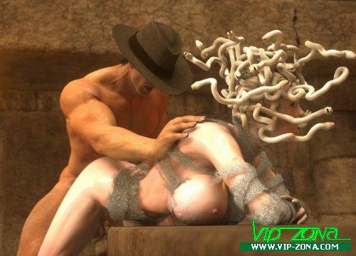 The Adventures of John Snake Medusa