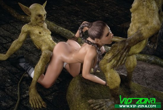 X3Z & Paradox3d - Iris Hunt - The Monsters Lair 1-2