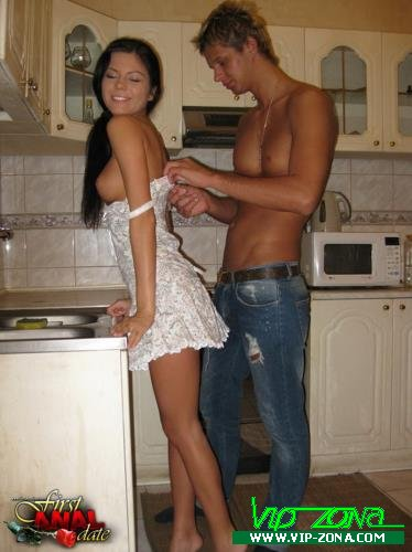 Polina - Assfucked in a kitchen (2009/Teensanalyzed.com/FullHD)