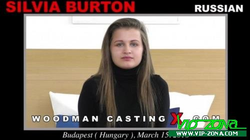 Silvia Burton - A russian girl, Silvia Burton has an audition with Pierre Woodman (2018/SD)