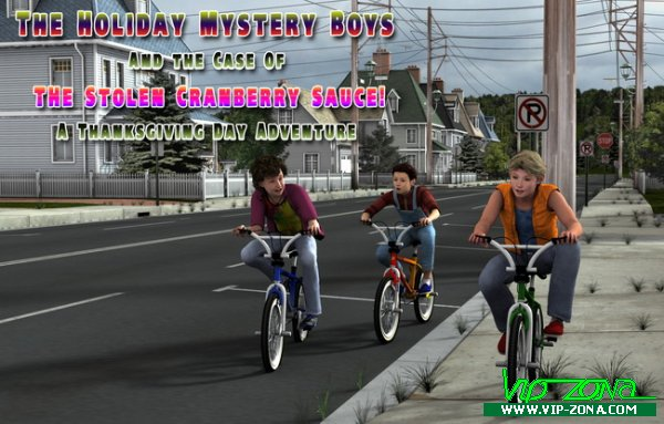 [SunnyD] The Holiday Mystery Boys / comics, shota, eng /