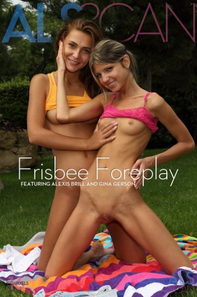 Alexis Brill & Gina Gerson - Frisbee foreplay